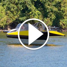 Watch The Flying Hovercraft in action