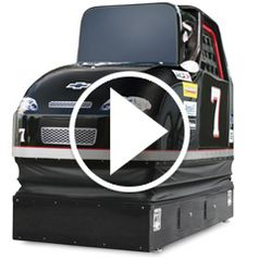 Watch The Stock Car Racing Simulator in action