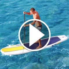 Watch Inflatable Stand Up Paddleboard in action