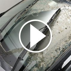 Play video for The Scrubbing Windshield Wiper Blade