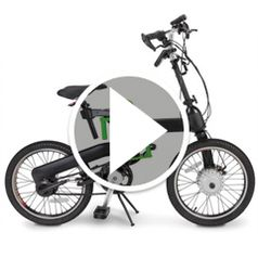 Watch The Folding Electric Bicycle in action