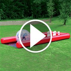 Watch The Human Bowling Ball in action