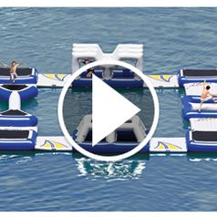 Play video for The Floating Obstacle Course