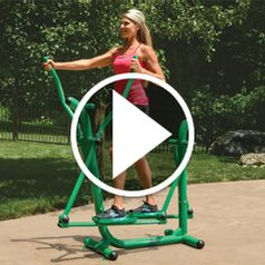 Watch The Outdoor Strider in action