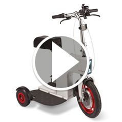 Watch The Foldaway Electric Chariot  in action