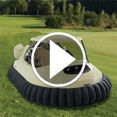 Watch The Golf Cart Hovercraft in action