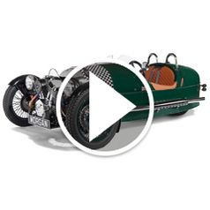 Watch The Authentic Morgan Three-Wheeler in action