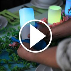 Watch	The Decor Matching Flameless Candles in action