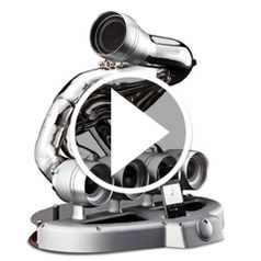 Play video for The Formula One Speaker Dock