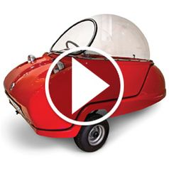 Watch The Electric Peel Micro Car in action