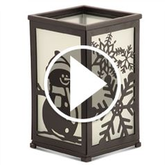 Watch  The Four Seasons Flameless Lantern in action