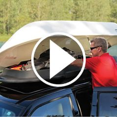 Watch The Car Top Carrier Dinghy in action