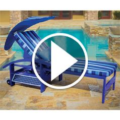 Watch The Solar Powered Entertainment Lounger in action
