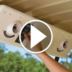 Watch The Golf Cart Cooling System in action