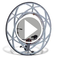 Watch The Olympic Ceremony Monowheel in action