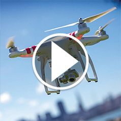 Watch The Live Video Camera Drone in action