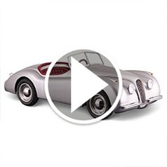 Play video for The Adults Jaguar XK120 Mini Roadster