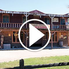 Watch The 23 Acre Wild West Town Amusement Park in action