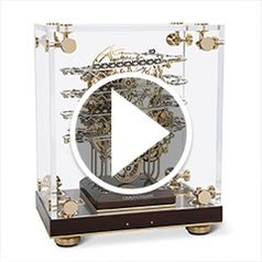 Watch The Physicists Perpetual Motion Clock in action