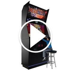 Watch The Worlds Largest Video Arcade Game in action