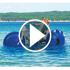 Play video for The Tropical Resport Aqua Tricycle