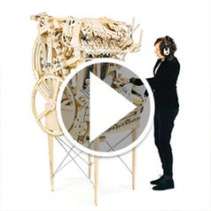 Play video for The Marble Machine Orchestra
