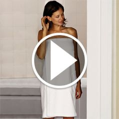 Watch The Woman�s Turkish Shower Wrap in action