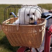 Classic English Bike Basket at Hammacher Schlemmer :  durable english classic english bike basket bags