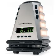 Peaceful Progression Wake Up Clock at Hammacher Schlemmer :  nature alarm clock aromatherapy clock