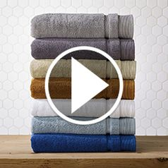 Play video for The Plush 900 Gram Genuine Turkish Towels