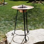 The Turkish Copper Solar Birdbath
