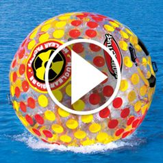 Watch The Six Foot Walk On Water Ball in action