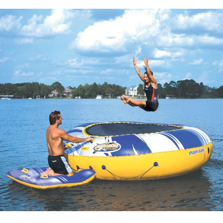 12-Foot Water Trampoline!