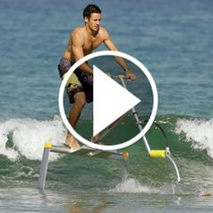 Watch The Hydrofoil Water Scooter in action