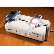 Multiple Unit Recharging Station at Hammacher Schlemmer :  cell phone electronic recharging station multiple unit