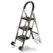 Hammacher-S step stool/hand truck
