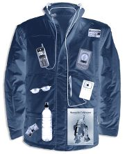 The G-Man's Convertible Travel Jacket: Waterproof jacket with 40 ...