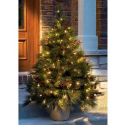 4 1/2-Foot Lighted Tree With Stake