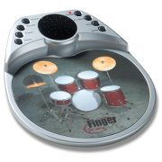 The Finger Drum Mousepad. at Hammacher Schlemmer :  drums mousepad music computer