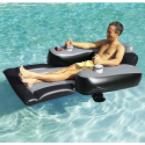 The Motorized Pool Lounger.