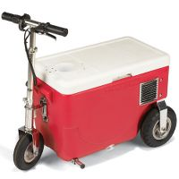 The 14 M.P.H. Cooler at Hammacher Schlemmer