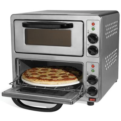 The 1 1/2 Minute Dual Pizza Oven.