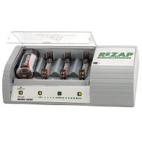 Alkaline battery recharger