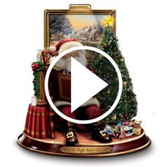 Watch  The Night Before Christmas Reciting Santa action