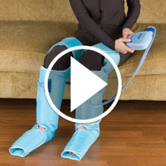 Watch The The Circulation Improving Leg Wraps in action