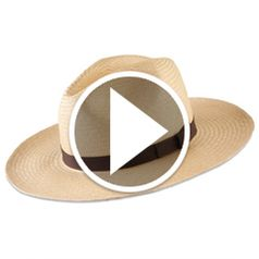 Watch The Packable Panama Hat in action
