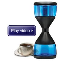 Watch The Acid Reducing Flavor Enhancing Coffee Hourglass in action