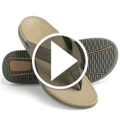 Play video for The Plantar Fasciitis Orthotic Sandal