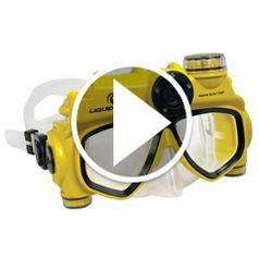 Watch The Only Digital Camera Swim Mask in action