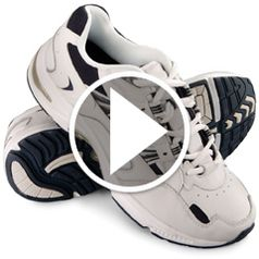 Watch The Gentleman's Plantar Fasciitis Orthotic Walking Shoes in action